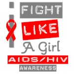 AIDS-HIV I Fight Like A Girl