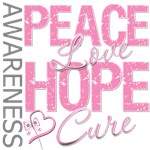 Breast Cancer Peace Love Hope Cure