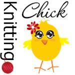Knitting Chick