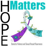 Domestic Violence Teal & Purple Hope Matters Gifts