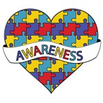 Autism Awareness Heart Shirts