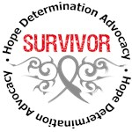 Brain Tumor Survivor Shirts & Gifts