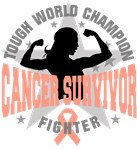 Endometrial Cancer Tough Survivor Shirts