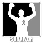 Brain Cancer Survivor Man