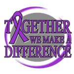 Pancreatic Cancer We Make A Difference Shirts