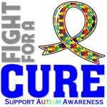 Autism Fight For A Cure Shirts