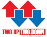 2 up 2 down arrows