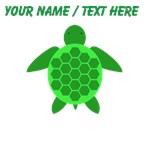 Custom Green Sea Turtle