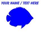 Custom Blue Tropical Fish