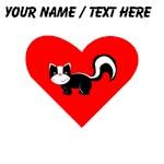 Custom Skunk Heart