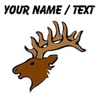 Custom Reindeer Head