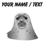 Custom Grey Sea Lion