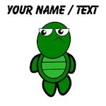 Custom Cartoon Turtle