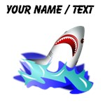 Custom Shark Cartoon