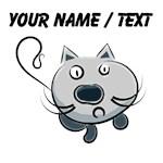 Custom Cartoon Cat
