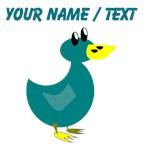 Custom Green Duck