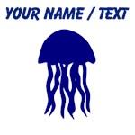 Custom Blue Jellyfish