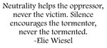 Wiesel Quote