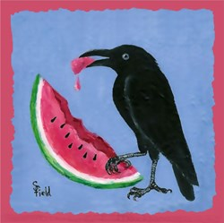 Crow & Watermelon