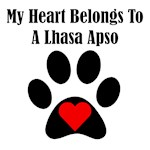 My Heart Belongs To A Lhasa Apso