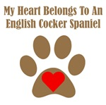 My Heart Belongs To An English Cocker Spaniel