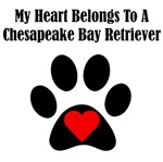 My Heart Belongs To A Chesapeake Bay Retriever