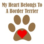 My Heart Belongs To A Border Terrier