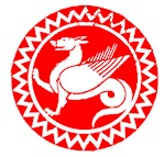 Red Dragon Circle Icon