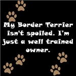Well Trained Border Terrier Owner