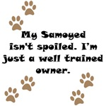Well Trained Samoyed Owner
