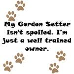 Well Trained Gordon Setter Owner