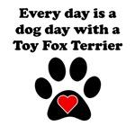 Toy Fox Terrier Dog Day