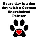German Shorthaired Pointer Dog Day