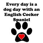 English Cocker Spaniel Dog Day