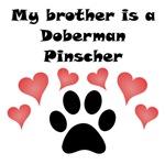 My Brother Is A Doberman Pinscher