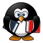 Book Worm Penguin