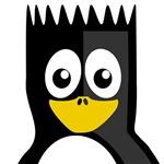 Spikey Hair Penguin