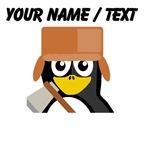 Custom Lumberjack Penguin