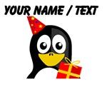 Custom Birthday Penguin