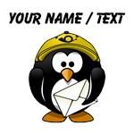 Custom Mail Man Penguin