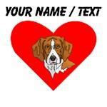 Custom Beagle Heart