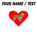 Custom Cocker Spaniel Heart