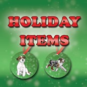 Red/Green Holiday Items