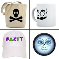 HATS, CUPS, BAGS & MORE