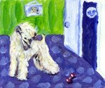 Wheaten moon door design