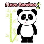 Panda I Love Bamboo