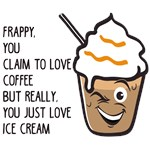Frappy The Coffee and Ice Cream Lover