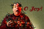 O Joy! (Tangled Man in Christmas Lights)