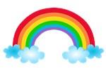 Rainbow & Clouds