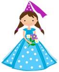 Princess in Blue